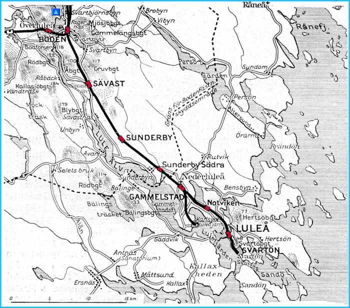 Karta Over Lulea Karta 2020
